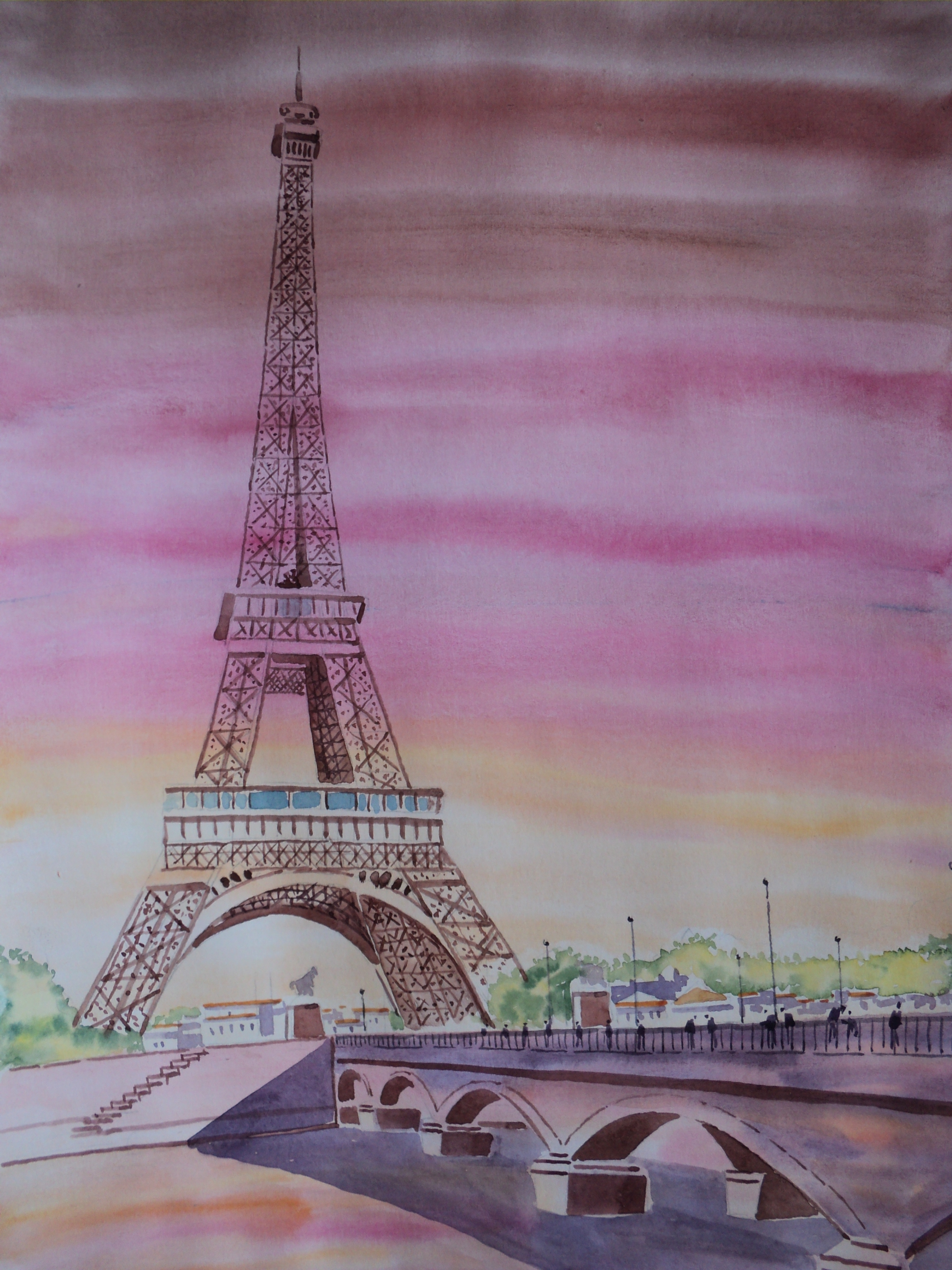 Aquarela de Paris