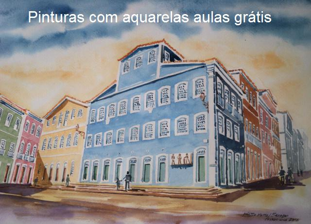 Aquarela do Pelourinho. Salavdor Bahia